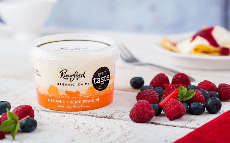 A picture of Organic Crème Fraiche from Riverford Organic Dairy