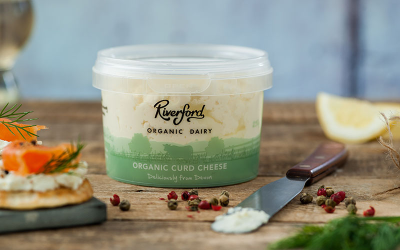 A picture of Organic Curd Cheese from Riverford Organic Dairy