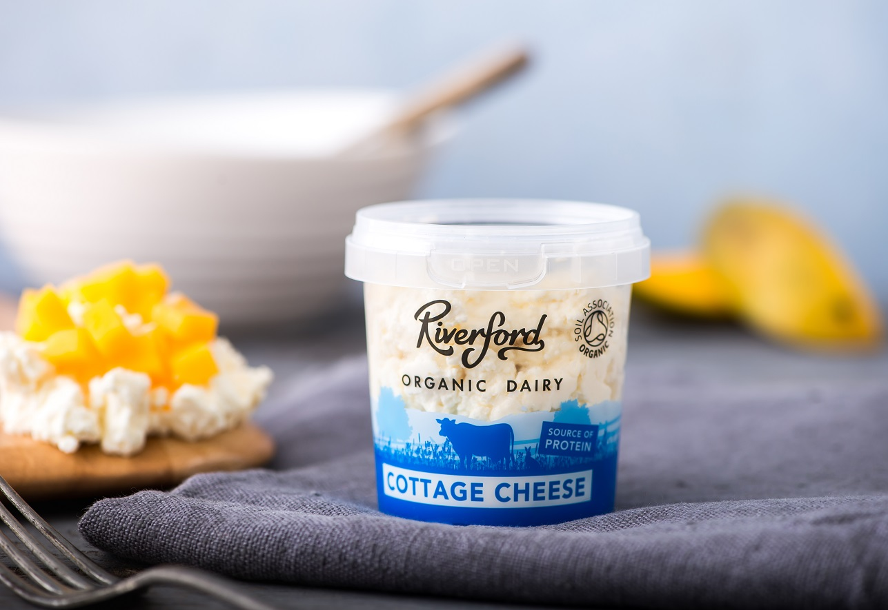 A picture of Organic Cottage Cheese from Riverford Organic Dairy